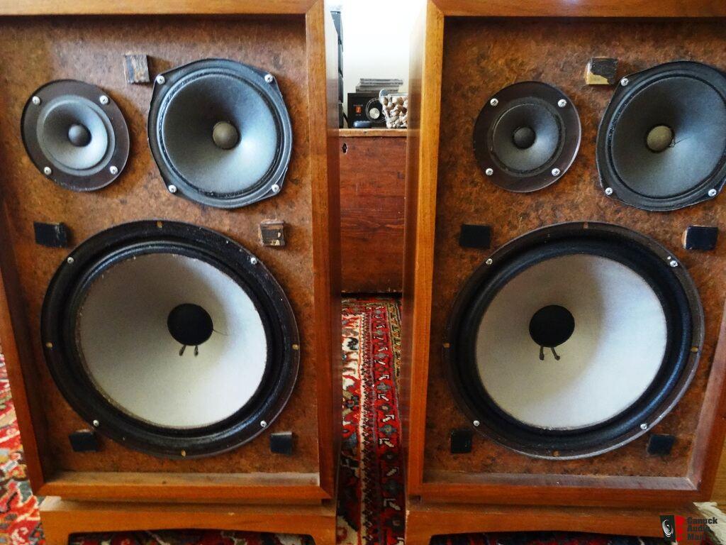 Unique Speakers sansui 4000 receiver & lwe-iii speakers - unique & rare photo