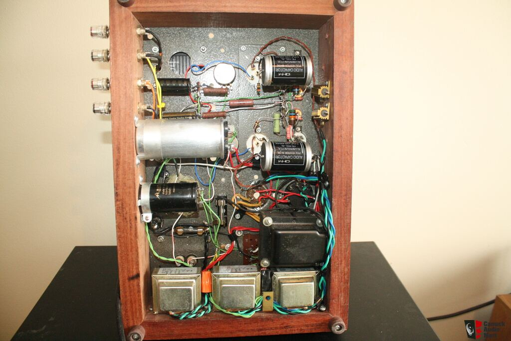 PX4 SINGLE ENDED TRIODE TUBE AMPLIFIER *** sale pending Photo