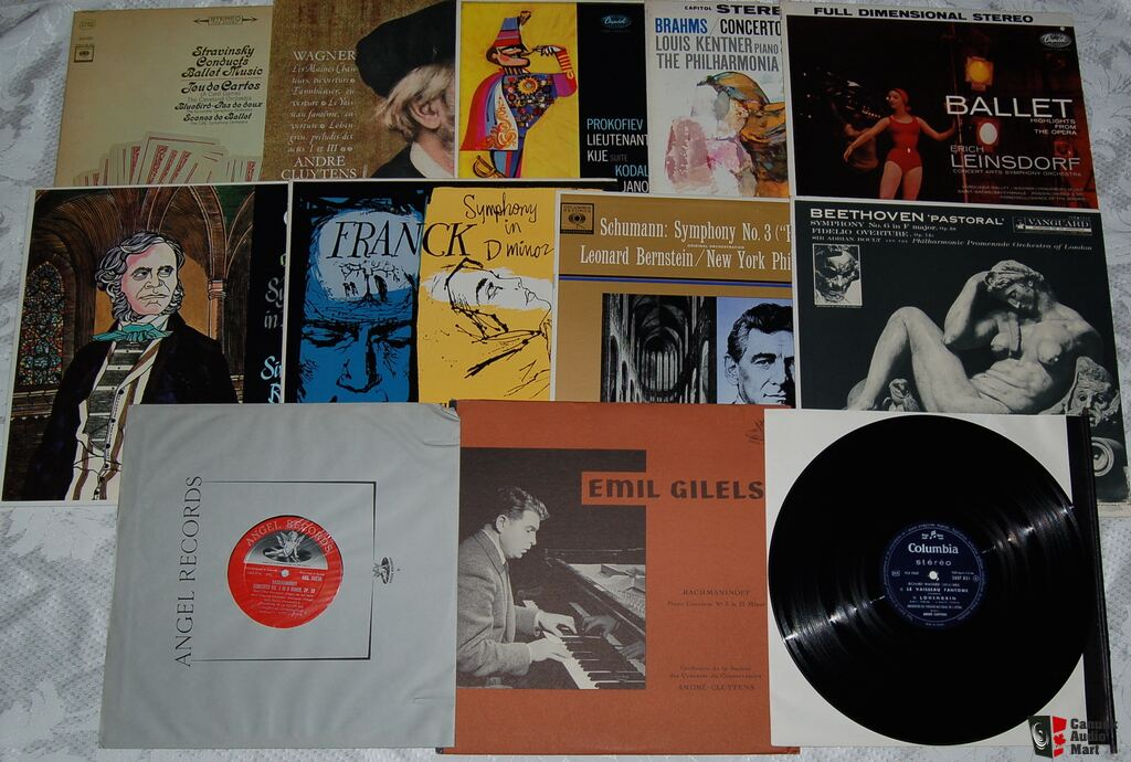 vintage classical records eBay