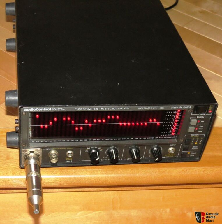 AudioControl SA-3050A Real Time Spectrum Analyzer (RTA