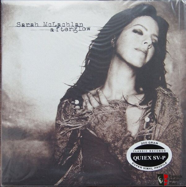 Sarah Mclachlan Afterglow 200g Classic Records Photo