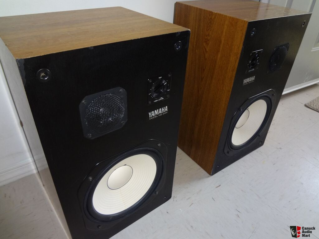 Yamaha ns 244 speakers passive monitors 10 woofers works for Yamaha 12 inch monitor