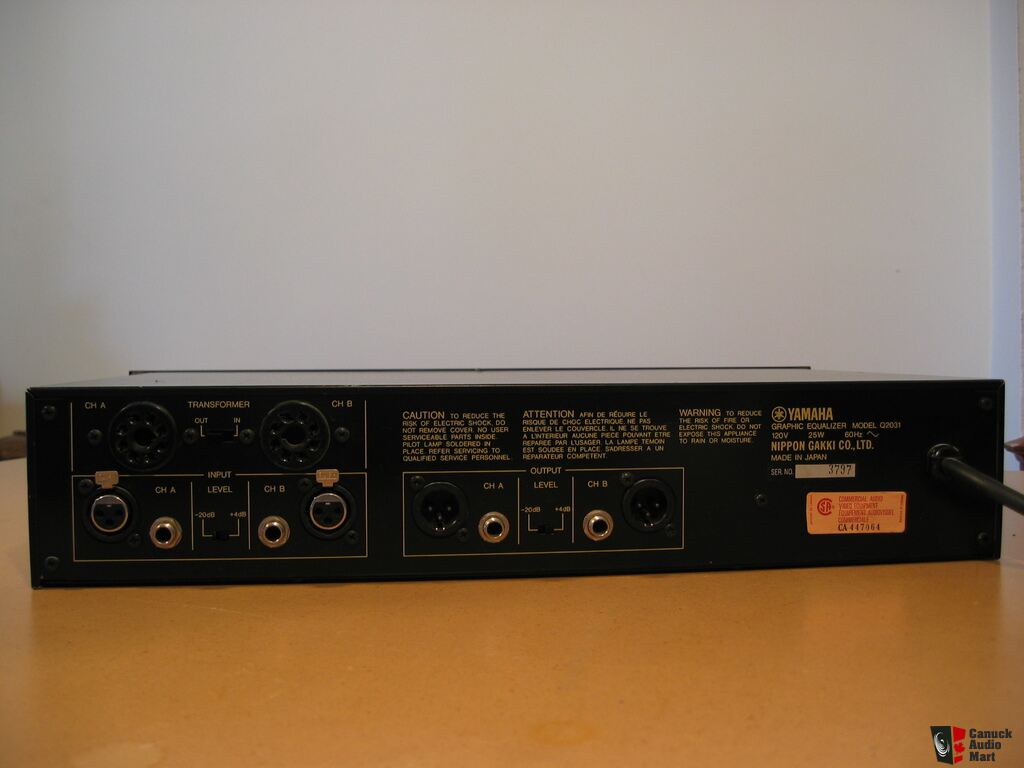 yamaha graphic eq q2031 galiseur de fr quence yamaha