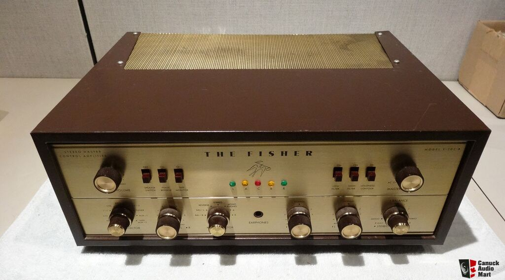 USA. VINTAGE (50,s-80,s) - Página 2 983612-fisher-x202b-tube-integrated-amplifier-7591-push-pull